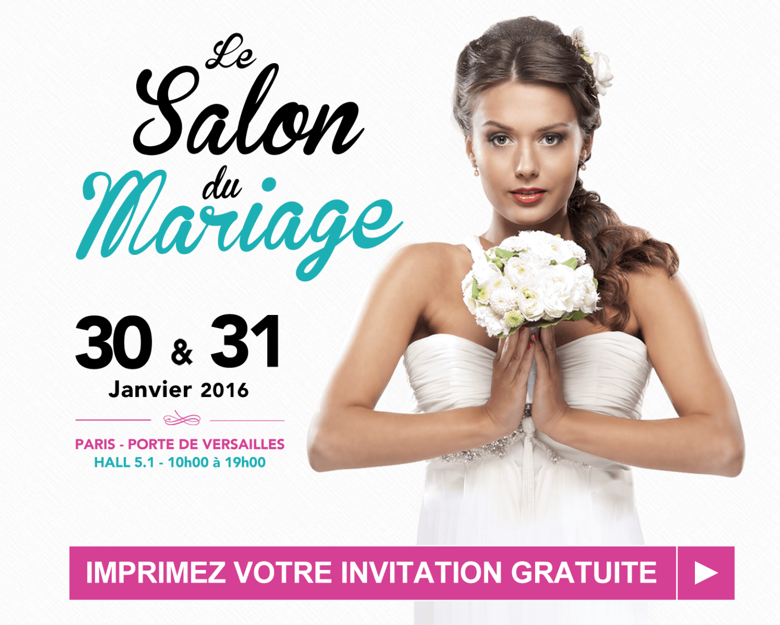 Salon du Mariage 30 & 31 Janvier 2016