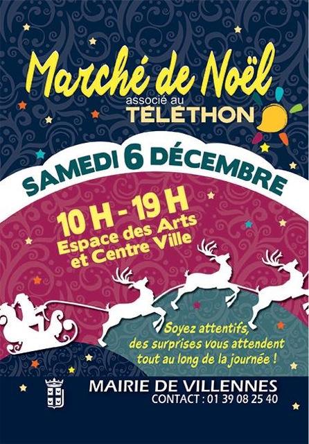 Marché de Noël 2014 de Villennes-sur-Seine, 06/12/2014