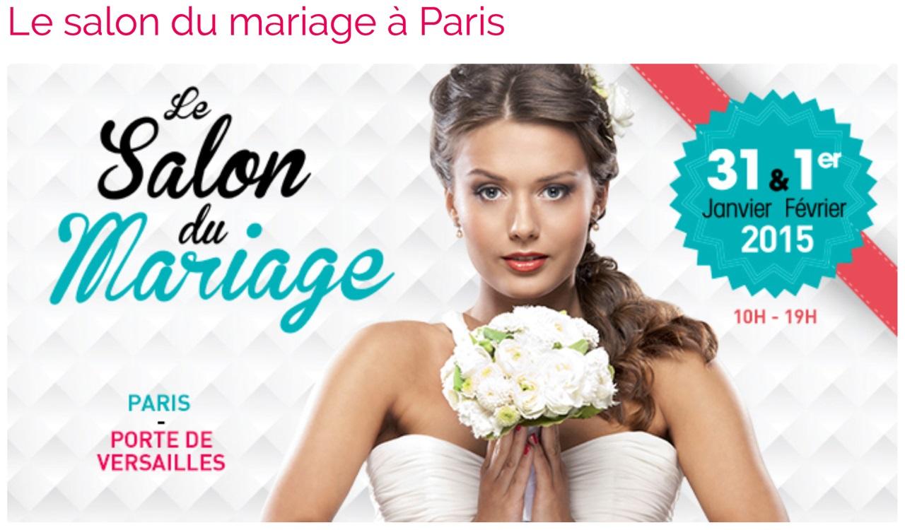 Salon du Mariage Paris - Février 2015