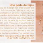 Mariée Magazine - Décembre 2008 - pages 2-3