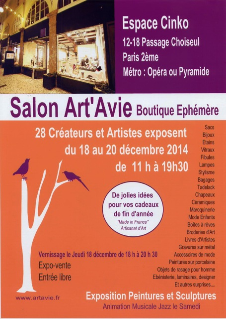 Salon Art'Avie 2014 ( Paris 12è)